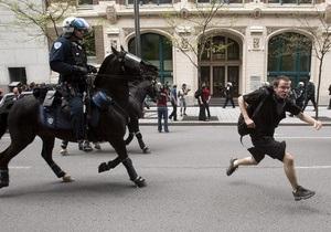 Студенческие протесты в Канаде: Полиция задержала около 200 человек