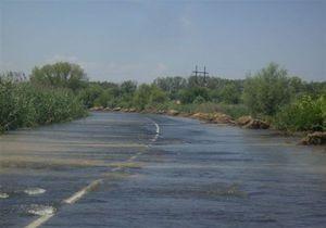 Уровень воды днестровского паводка достиг полуметровой отметки