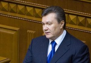 Янукович заявил, что недоволен работой власти