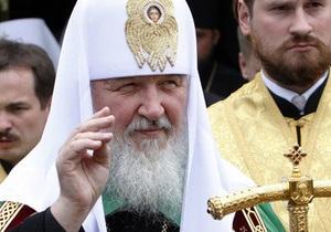 Патриарх Кирилл помолился о Януковиче и наградил Фирташа орденом Серафима Саровского