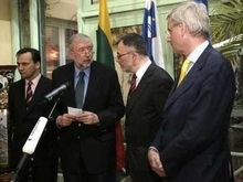 Литва согласилась на переговоры Евросоюза и России