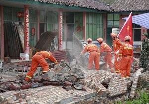 Cвыше 155 тысяч человек пострадали в результате землетрясения в Китае