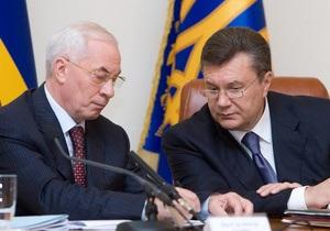 Азаров: Выборы показали, что народ доверяет власти