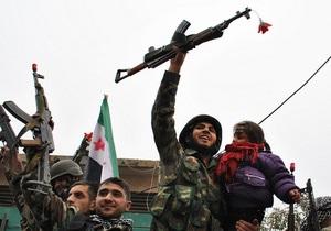 Генсек ООН выступил против любых поставок оружия в Сирию