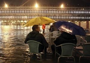 Фотогалерея: Высокая вода. Осеннее наводнение в Венеции