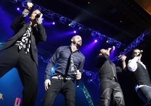 Фотогалерея: Уже не мальчики. Backstreet Boys в Киеве