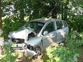 В Сумской области водитель уснула за рулем: пострадали семеро россиян
