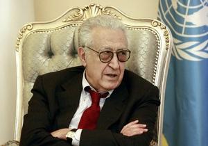Спецпосланник ООН призвал сирийские власти и оппозицию прекратить огонь