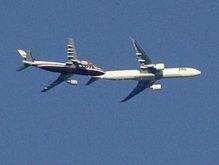 Самолет с премьером Франции избежал лобового столкновения в воздухе