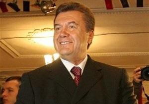 Виктор Янукович поздравил президента Замбии Рупию Бвезани Банду