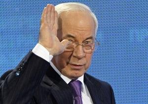 Азаров - Кабмин - Рада - Будет время - будет отчет. Азаров не сказал, когда будет отчет Кабмина за прошлый год