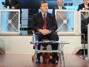 Янукович в прямом эфире расскажет, как готовится к выборам