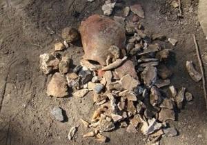 В Запорожской области обнаружили уникальный могильник скифских времен