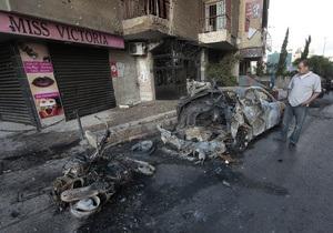 Бейрут: кровавые столкновения из-за сирийского конфликта