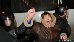 В Москве задержаны участники митинга на Триумфальной