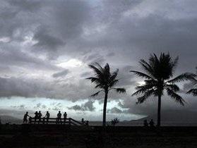 На Филиппины обрушился тропический ураган: эвакуированы десятки тысяч жителей