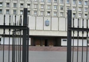 Ющенко поручил Внутренним войскам охранять Центризбирком
