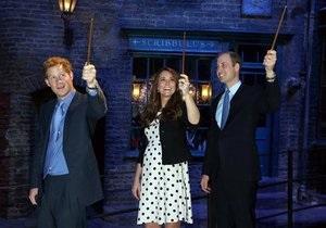 Би-би-си: Как герцоги Кембриджские играли в волшебников