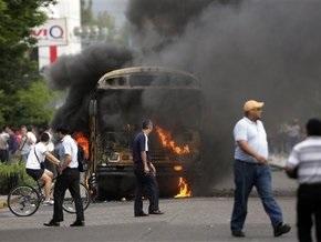 В столице Гондураса вспыхнули массовые беспорядки