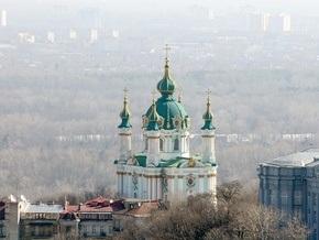 Реставрацию Андреевской церкви в Киеве планируют завершить до мая 2010 года