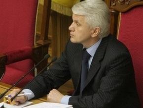 Литвин: Сейчас политикам следовало бы помолчать
