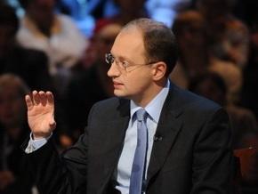 Яценюк: Пункты обмена валют уже давно пора ликвидировать