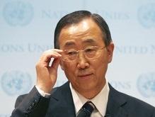Генсек ООН выразил крайнюю озабоченность обострением ситуации в Южной Осетии