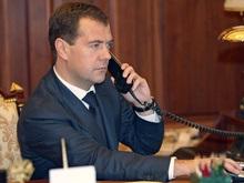Медведев  по телефону подтвердил Солане свой приказ