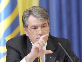 Ющенко заявляет, что для него дата досрочных выборов не принципиальна