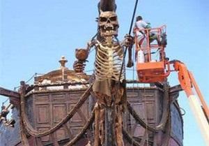 В Сеть попали первые кадры со съемок Пиратов Карибского моря-4