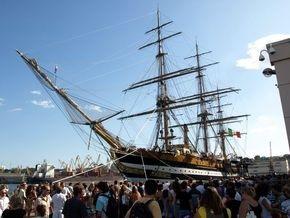 Фотогалерея: Самый красивый корабль мира посетил Одессу
