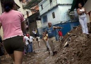 Шторм и проливные дожди унесли жизни восьми человек в Венесуэле