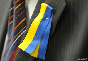 Партия Кириленко будет раздавать украинцам сине-желтую символику