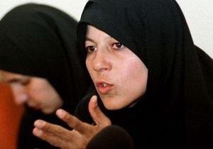 Дочь бывшего президента Ирана арестовали на митинге оппозиции