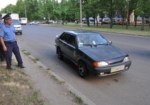В Николаеве гаишник сбил мужчину на пешеходном переходе