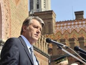 Ющенко предупредил о потере демократических достижений, достигнутых в последние годы