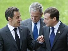 Буш и Саркози: Россия не выполнила обязательства по выводу войск