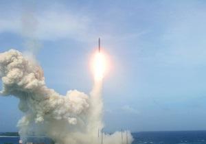 Французская ракета в ходе испытаний неожиданно самоуничтожилась