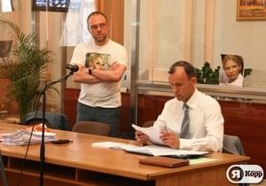 Я-Корреспондент: Дело Тимошенко. Фоторепортаж из зала суда