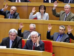 Парламент Молдовы займется избранием президента после внесения поправок в закон о выборах