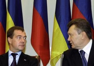 Медведев благодарен Януковичу за предложенную помощь в борьбе с пожарами