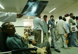 ВОЗ прогнозирует два миллиона случаев лекарственно-устойчивого туберкулеза к 2015 году