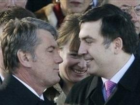 СМИ: Ющенко едет на празднование Дня независимости Грузии