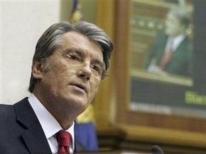 В СНБО считают, что Ющенко может распустить Раду по закону Архимеда