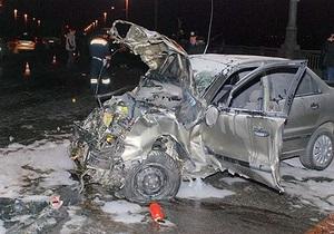 Крупное ДТП в Киеве: погибли три человека