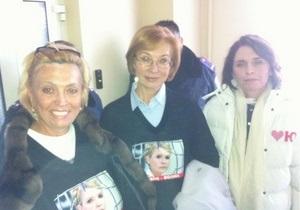 Женщины-депутаты провели ночь в больнице Тимошенко
