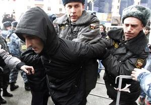 Более 10 человек задержаны в Москве при попытке пройти к приемной президента