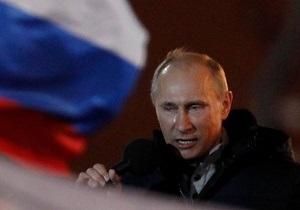 В первом туре на выборах президента России побеждает Путин