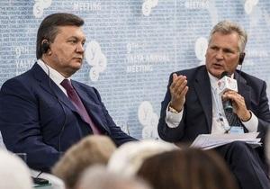 Трое европейских политиков выступили с заявлением по итогам встречи с Януковичем