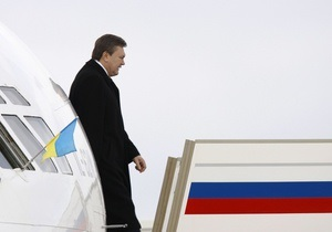 Янукович планирует посетить Москву, а Путин - Киев